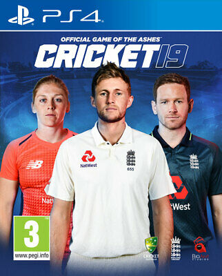 Cricket 19 - The Official Game of the Ashes PS4