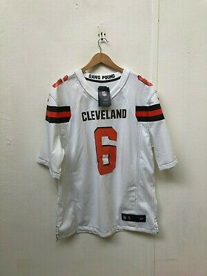 newest ca5d6 c4c51 NIKE CLEVELAND BROWNS NFL Jersey Mens Small Authentic Shirt ...