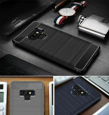 Case for Samsung Galaxy NOTE 9 Slim Shockproof Silicone Gel RUGGED Cover