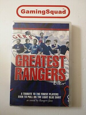 The Greatest Rangers Ever DVD, Supplied by Gaming Squad
