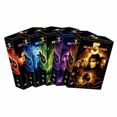Babylon 5: The Complete Seasons 1-5 On DVD With Boxleitner Bruce Very Good E26