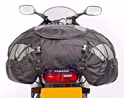 Autokicker Companion 50L Tail Cargo Roll Pack Bag For Motorbikes & Motorcycle