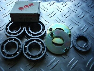 Suzuki GT380 72-77 NOS Crankshaft Bearing Set and Oil Guide Set 09262-25030