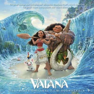 VAIANA Deutscher Original Soundtrack CD NEU & OVP Helene Fischer Andreas Bourani