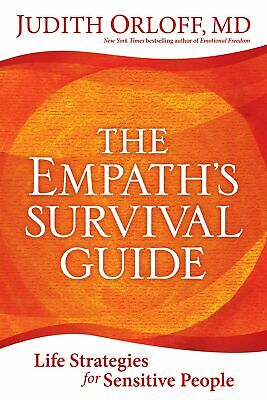 The Empath's Survival Guide Life Strategies for Sensitive People NewFree Ship