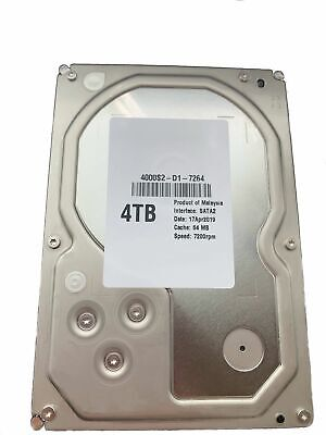 "Hitachi HGST Ultrastar HUS724040ALA640 White Label 4TB 3,5"" SATA2 64MB 7200RPM"