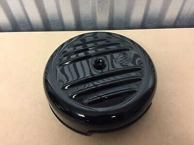 Genuine Harley-Davidson Sportster Air Cleaner Cover + Back Plate Black 61300541