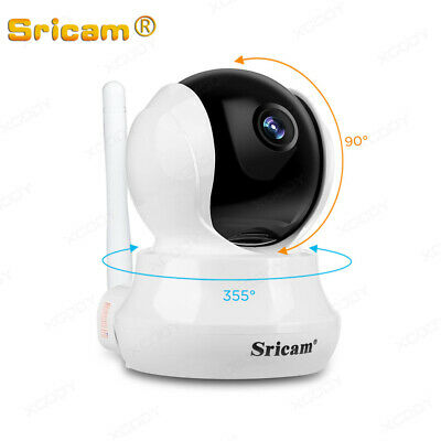 Telecamera Ip Camera Wireless Hd Cam Ir Led Lan Motorizzata Wifi Internet Sp020