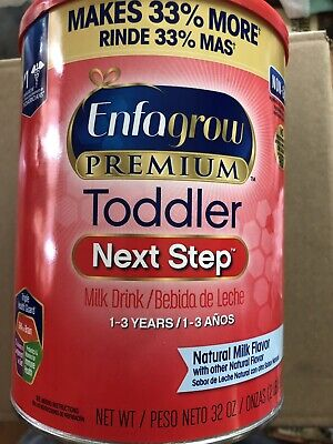 Enfagrow Premium Toddler Next Step Formula Powder. 32oz Can.