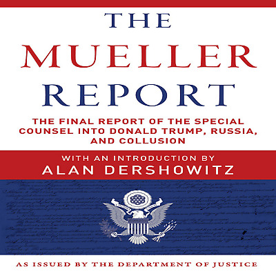 🎧The Mueller Report by The Washington Post + FULL HD PDF (Unabridged Audiobook)