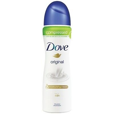 Dove Original Compressed Anti-perspirant Deodorant 6x75ml