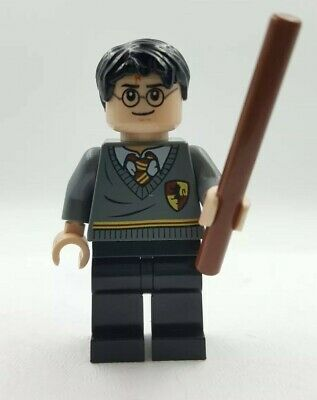 Lego Mini Figurine Harry Potter Cicatrice Baguette Magique Gryffondor 4736 4738