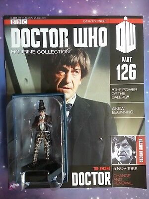 2Nd Second Doctor Who 1966 Eaglemoss Figurine Collection Magazine Part 126