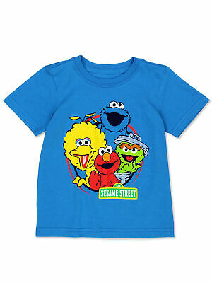 Sesame Street Baby Toddler Boy's Girl's Short Sleeve T-Shirt Tee BSGC406