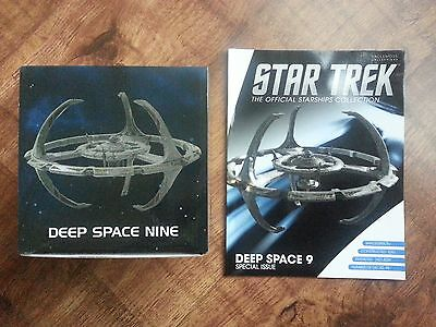 Star Trek Ds9 Deep Space Nine Starships Collection Eaglemoss Model & Magazine