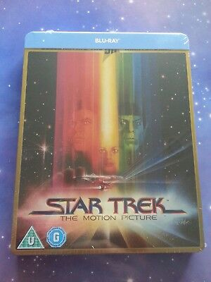 Star Trek The Motion Picture Movie Limited Edition Steelbook Blu Ray Sealed