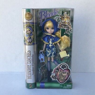 Mattel Ever After High Through The Woods Blondie Lockes Doll Nrfb