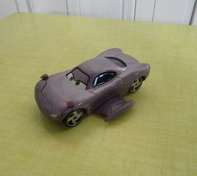 DISNEY PIXAR CARS VOITURE Holley Shiftwell FLASH McQUEEN METAL 1/55 BON ETAT !