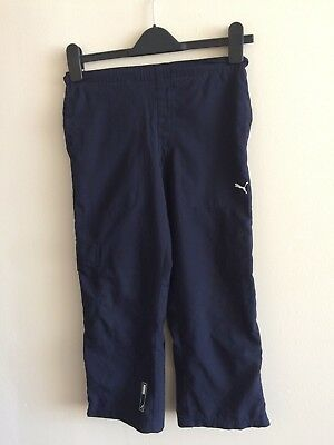 Puma Girl's Navy Blue Trousers Size 24