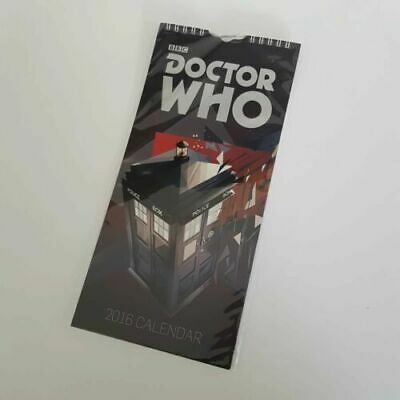 DOCTOR WHO - 2016 CALENDAR © BBC - New & Sealed - Danilo Promotions