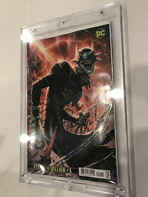 DC Year of the Villain #1D Jim Cheung Batman Who Laughs Variant NM-