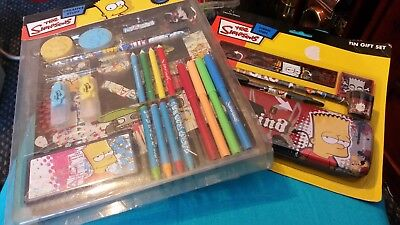 simsons stationary  duo  pack