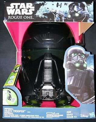 Star Wars: Rogue One Imperial Death Trooper Voice Changer Mask Toy New