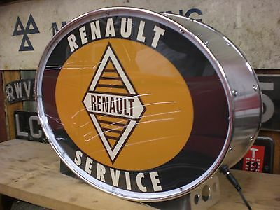 Renault,5,4,cv,gordini,dauphine,illuminated,mancave,lightup sign,garage,workshop
