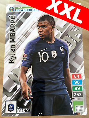 MBAPPE XXL LIMITED EDITION Road to UEFA EURO 2020 Adrenalyn XL Panini