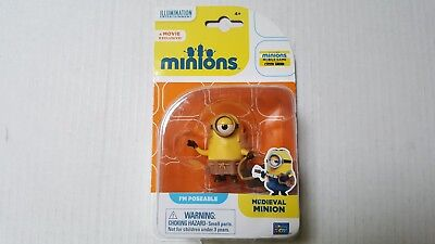 minions /despicable me,  medieval  figure. poseable,  only  £4.99.