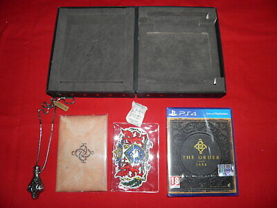 The Order 1886 Collector's Edition PS4 Playstation 4 SONY