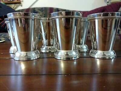 R.S. Silverplate Mint Julep Cups