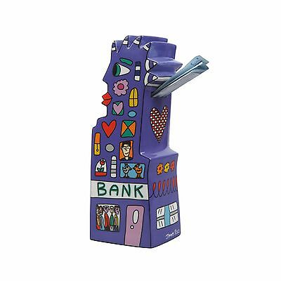 RIZZI: Figur / Spardose MY POINTY PIGGY BANK, Goebel Porzellan, neu TOP ANGEBOT