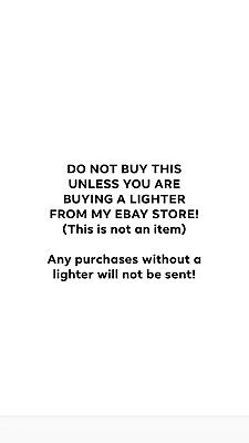 Almighty Burtroni Ebay - Strictly For Lighter Customers - Prefilled Before Post