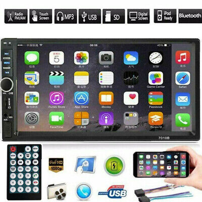 """7"""" Car Stereo Radio HD Mp5 Player Touch Bluetooth Radio 2din FM+Remote Controlle"""