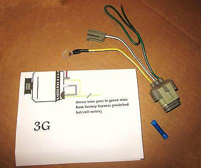 Ford Mustang 3G Alternator Upgrade Conversion wiring Harness Connector New
