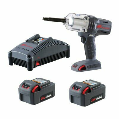 "Ingersoll Rand 20V 1/2"" High-Torque Impact Wrench with Extended Anvil 5.0Ah Kit"
