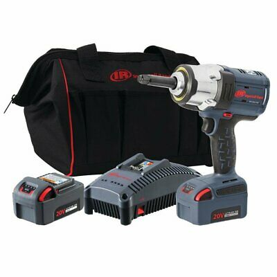 "Ingersoll Rand 1/2"" 20V High Torque Impact Wrench with 2"" Anvil 5.0Ah Kit W7252-"