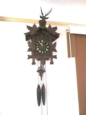 Antique / Victorian Quail  German Cuckoo Clock G & K