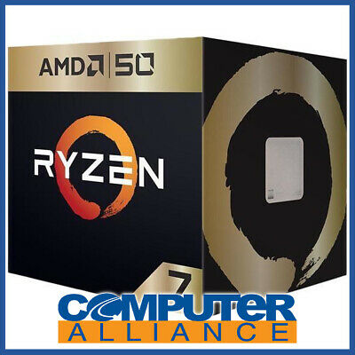 AMD AM4 Ryzen 7 2700X AMD 50 GOLD Edition Eight Core 3.7GHz 105W CPU (No Integra