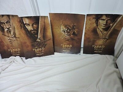 New Old Stock 4 Imax 12:01-12-14-12 The Hobbit Unexpected Journey Movie Posters