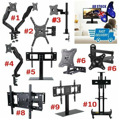 10-79 inch LCD LED TV Monitor Wall Mount Bracket with Pivot/Swivel Arms & Tilt