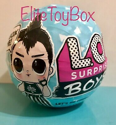 LOL Surprise BOYS SERIES 1 Doll 7 Surprises In Boy Ball SHIPS TODAY