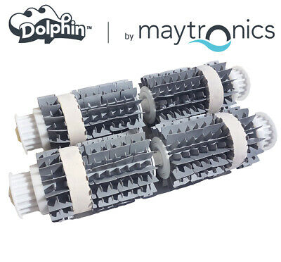 NEUF Kit complet 2 Brosses robot DOLPHIN Wonderbrush Combi Maytronics