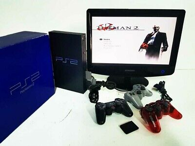 Console SONY PS2 PlayStation 2 + 3 Controller + Memory Card + Regalo Giochi