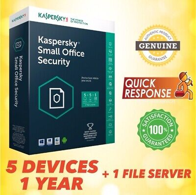 Kaspersky Small Office Security 2019 V6 | 1 File Server, 5 Device GLOBAL LICENSE