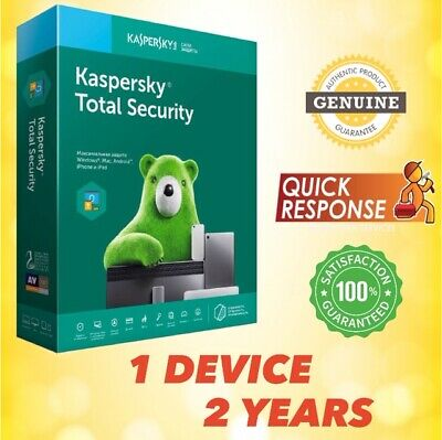 Kaspersky Total Security 2020 Antivirus - 1 Pc | 1 Device | 2 Year