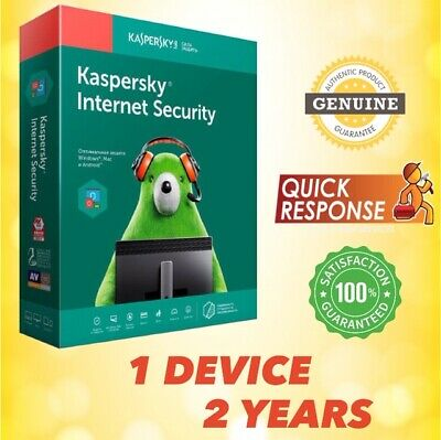 KASPERSKY INTERNET SECURITY 2020 ANTIVIRUS - 1 PC | 2 YEAR | For Windows