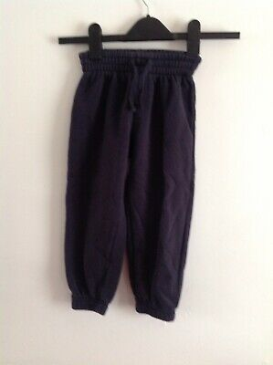 Boys Blue Jogging Bottoms Aged 4 Years 🌾