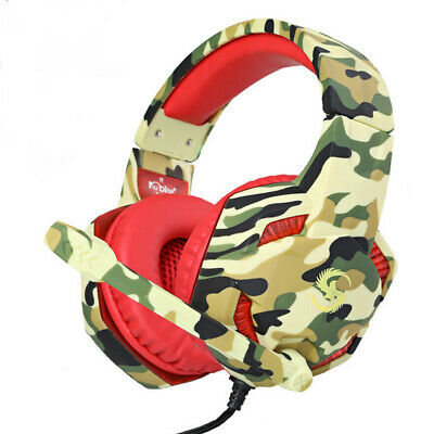 3.5mm K17 Gaming Headset MIC LED Headphones for PC Laptop PS4 Slim Xbox One S X